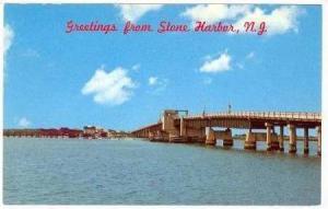 Greetings From Stone Harbor, Ocean Drive Highway Bridge, New Jersey, 1940-60s