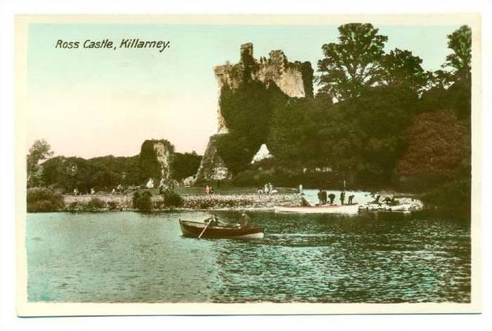 RP; Ross Castle , Killarney , Ireland , 1920-40s