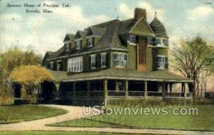 Summer Home of President Taft Beverly MA 1909