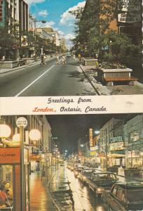 Day & Night Street views, LONDON , Ontario , Canada , PU-1977