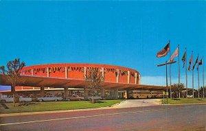 Dallas TX Memorial Auditorium Conventions used for Concerts Sports etc. Postcard