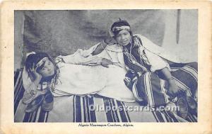Arab Nude Postcard Algerie Mauresques Chouchess Algiers Unused