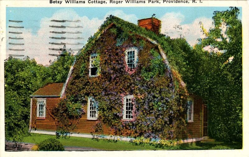 RI - Providence. Roger Williams Park, Betsy Williams Cottage (Rhode Island)