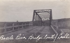 RP: Baule River Bridge at Lashburn, Saskatchewan , Canada , 00-10s