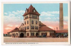 Boston & Maine Railroad Station, Manchester NH