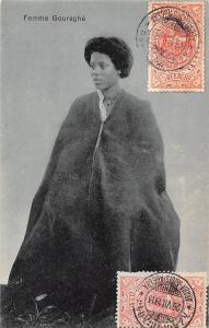 Ethiopia Femme Gouraghe, Native Woman 1913
