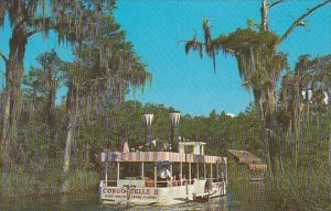 Florida Clearwater Florida's Only Glass Bottom Side Paddle Wheeled River...