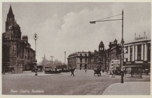 ROCHDALE, Greater Manchester, England, 1910-20s; Town Centre