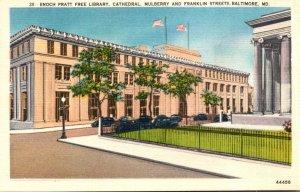 Maryland Baltimore Enoch Pratt Free Library