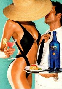 Advertising Alcohol Skyy Citrus Vodka