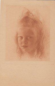 Girl Head Portrait , 1921