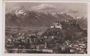 RP: Salzburg mit Untersburg, Austria 1950