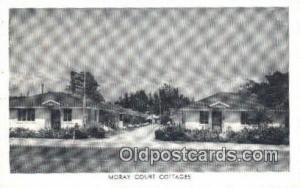 Moray Court Cottages, St. Petersburg, FL, USA Motel Hotel Postcard Post Card ...