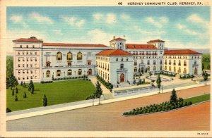 Pennsylvania Hershey The Hershey Community Club Curteich