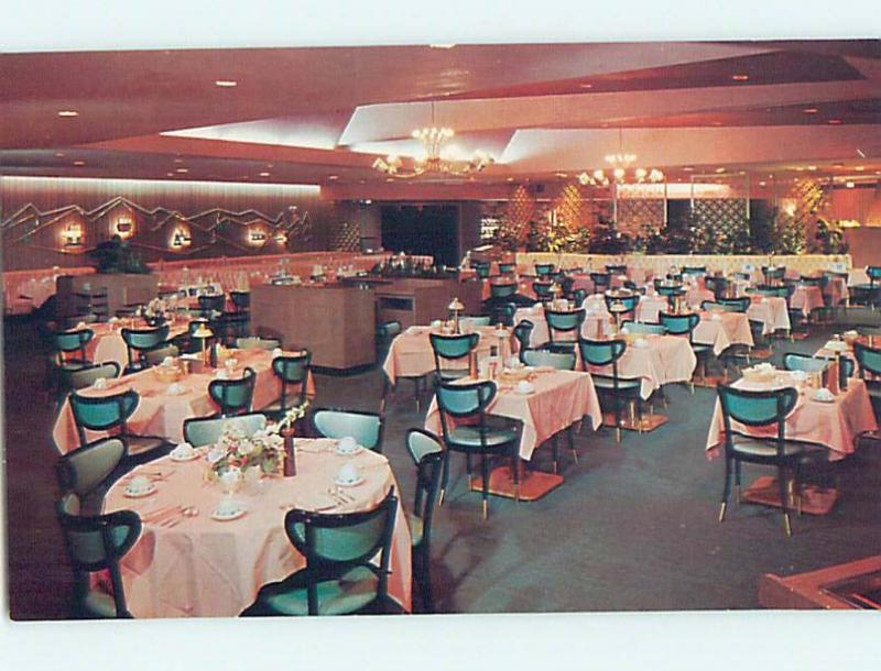 Unused Pre-1980 RESTAURANT SCENE Denver Colorado CO hk4176