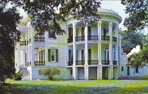 Louisaiana White Castle Nottoway Plantation Side View