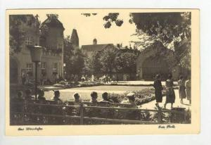 Bad Wörishofen , Unterallgäu, Bavaria, Germany 1920s, Park view