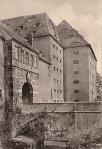 Germany Freiberg Sachsen Schloss Freudenstein Haupteingang