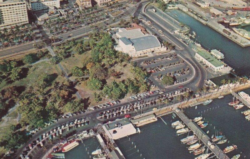 MIAMI BEACH , Florida , 1950-60s ; City Yacht Basin & Bayfront Park