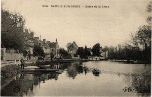 CPA SAMOIS-sur-SEINE - Bords de la SEINE (292801)