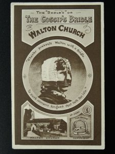 Surrey - Walton on Thames THE GOSSIP'S BRIDLE c1907 Postcard by G. Phillipson