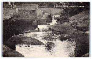 1930s/40s Seven Falls, Higganum, CT Postcard