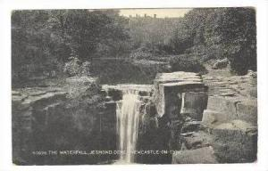 The Waterfall, Jesmond Dene, Newcastle-On-Tyne, England, United Kingdom, 1900...