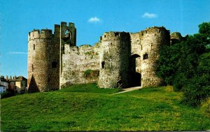 Wales Monmouthshire Chepstow Castle