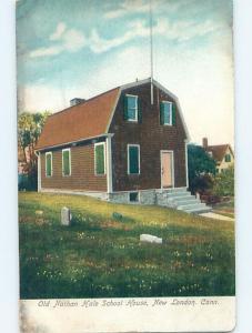 Pre-1907 SCHOOL New London Connecticut CT A1749