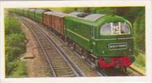George Payne Tea Trade Card British Railways No 7 No E.5006