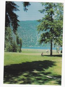 Golf Course, Sunshore Golf Club, Little Shuswap Lake, CHASE, British Columbia...