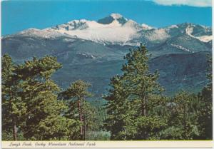 Long's Peak, Rocky Mountain National Park, Colorado, unused Postcard