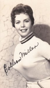 Colleen Miller Direct From Universal Film Studio Signed Postcard