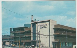 USA; Pittsburgh, Greyhound Bus Station When New PPC, Unposted, c 1960's