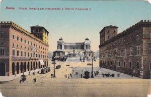 Roma, Piazza Venezia col monumento a Vittorio Emanuele II, Lazio, Italy, 00-10s