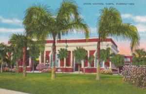 Florida Tampa Union Station 1953