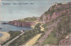TAORMINA, Sicilia, Italy, 1900-1910's; Capo E Hotel Castello A Mare