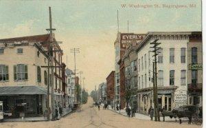 HAGERSTOWN , Maryland , 1909 ; West Washington Street