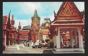 Wat Pra Keo Emerald Buddha Bangkok Thailand unused c1950's