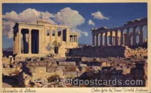 Acropolis Ahtens, Greece Advertising Post Card Post Card  Acropolis