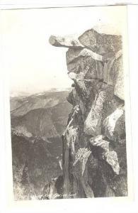 RP, Overhanging Rock, Glacier Point, Yosemite Valley, California, 1930-1950s