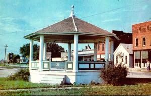 Illinois Adair Bandstand On Route 136