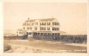 Chatham Massachusetts Hawthorne Inn Real Photo Antique Postcard K30761