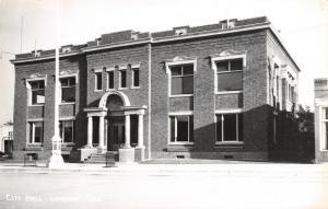 Longmont Colorado~The Seat of Municipal Government~City Hall~Flagpole~RPPC