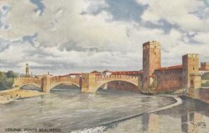 VERONA , Italy , 1900-10s ; Ponte Scaligero,  TUCK # 790