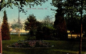 Washington Seattle Scene In Leschi Park