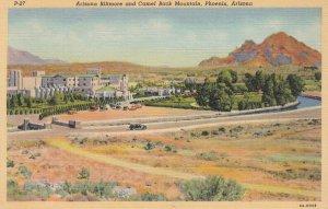 PHOENIX , Arizona , 1930-40s ; Biltmore & Camel Back Mountain