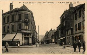 CPA St-ETIENNE Rue d'Annonay (402837)