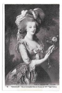 France Versailles Marie Antoinette Vtg Bourdier Postcard