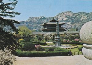 Ten-Story Stone Pagoda of Gyeong Cheon-sa Temple, SOUTH KOREA, 50-70's